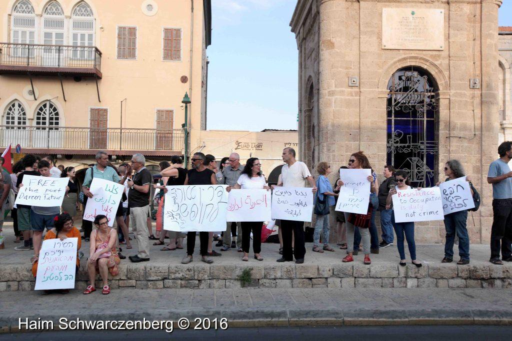 Free Darin Tatur, Jaffa, 25.6.2016 | IMG_3791