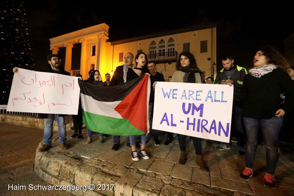Jaffa: Demonstration against Home Demolitions in Umm al-Hiran | FW7A3849
