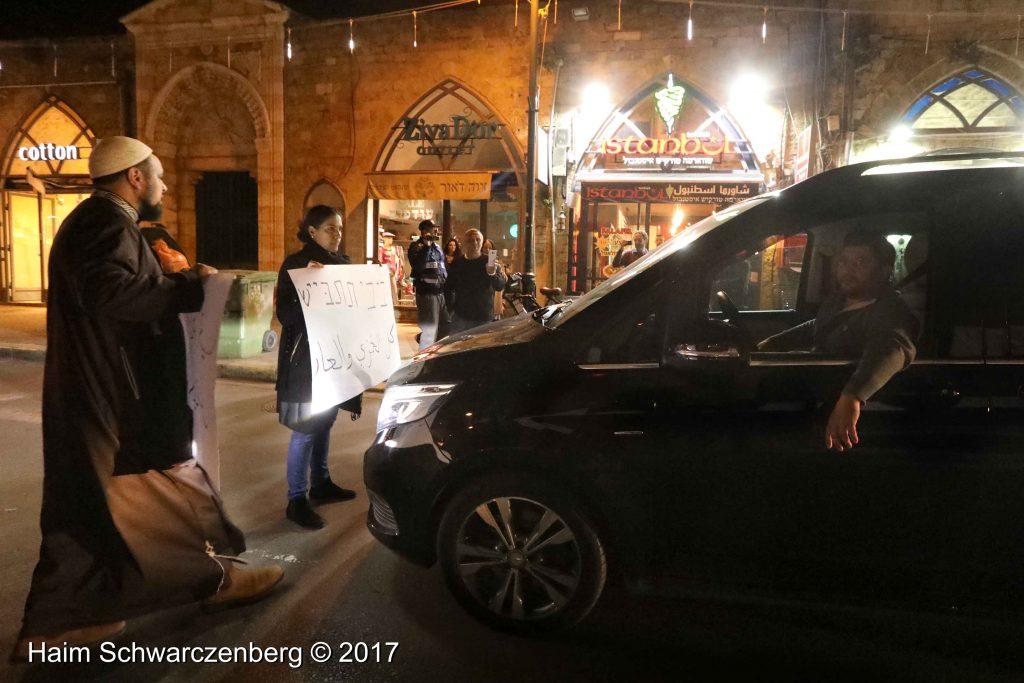 Jaffa: Demonstration against Home Demolitions in Umm al-Hiran   FW7A3956
