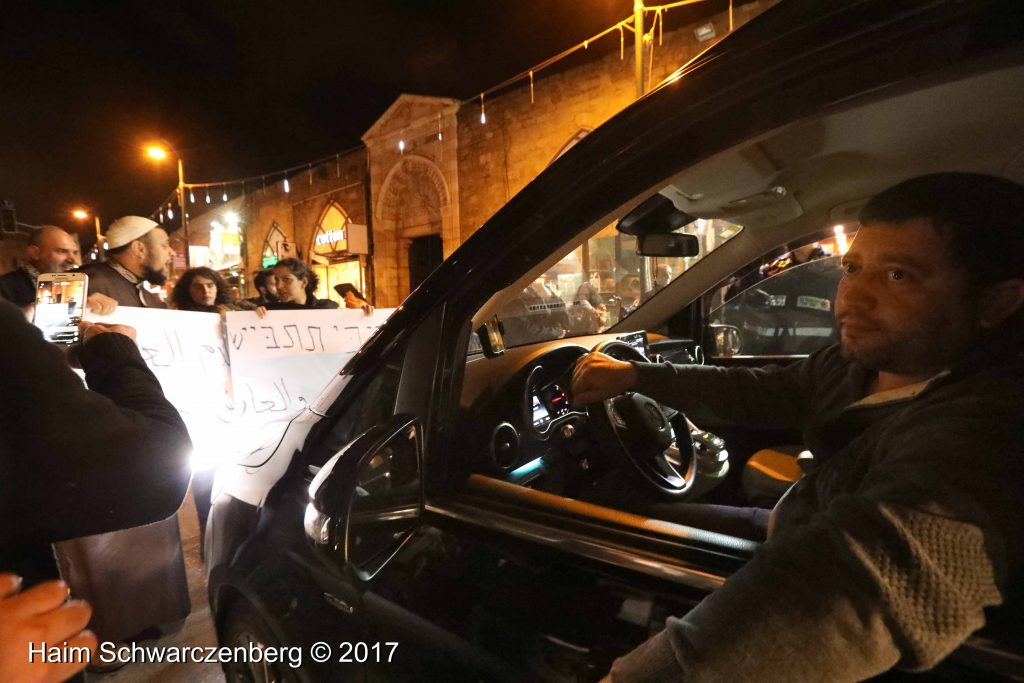 Jaffa: Demonstration against Home Demolitions in Umm al-Hiran | FW7A3975