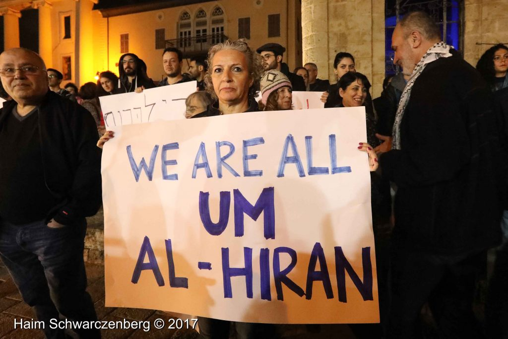 Jaffa: Demonstration against Home Demolitions in Umm al-Hiran | FW7A4011
