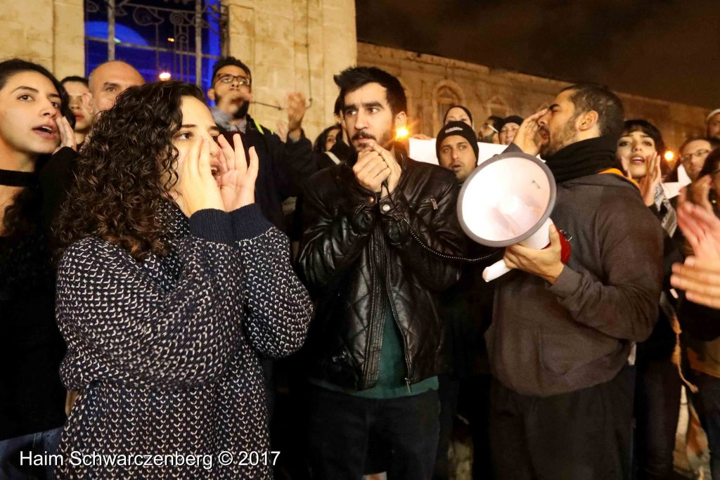 Jaffa: Demonstration against Home Demolitions in Umm al-Hiran | FW7A4036