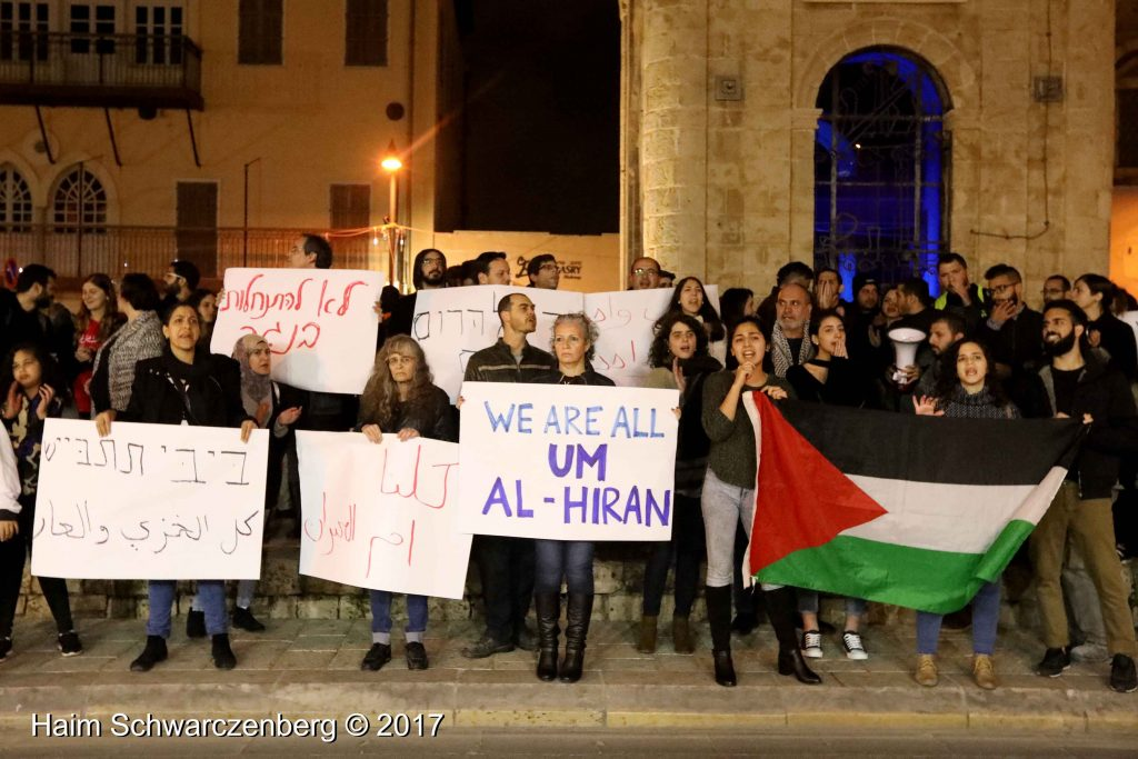 Jaffa: Demonstration against Home Demolitions in Umm al-Hiran | FW7A4061