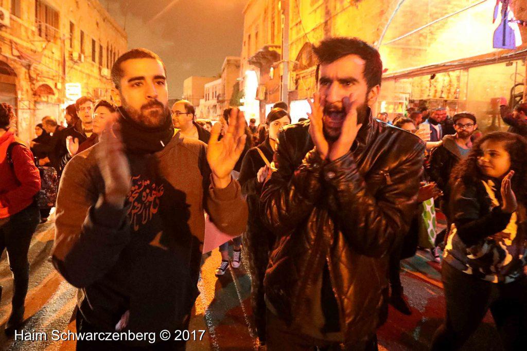 Jaffa: Demonstration against Home Demolitions in Umm al-Hiran   FW7A4122
