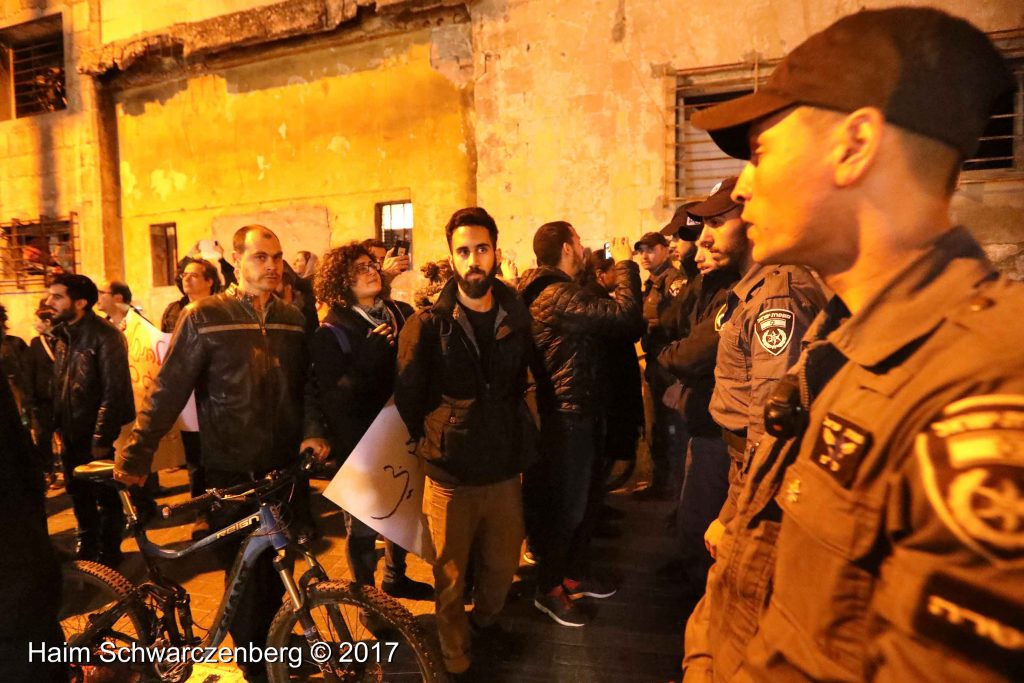 Jaffa: Demonstration against Home Demolitions in Umm al-Hiran | FW7A4179