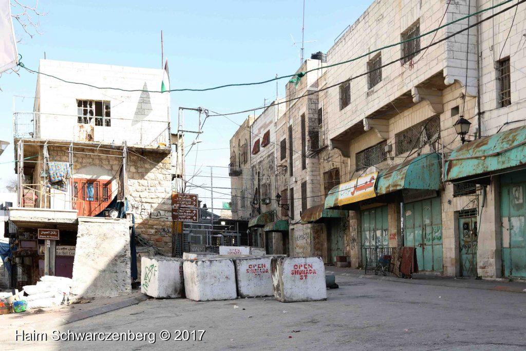 Open Shuhadaa Street, Hebron, 2017 | FW7A7073