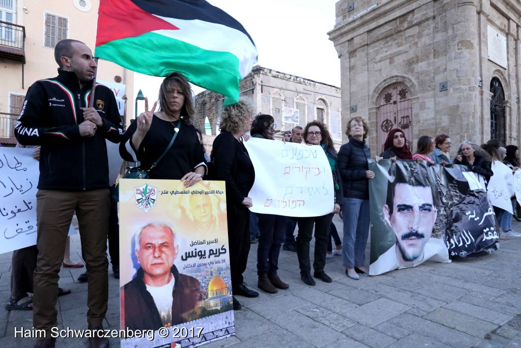 Jaffa stands in solidarity with Palestinian political prisoners | FW7A3001