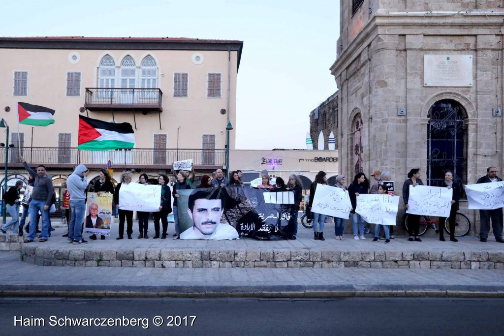 Jaffa stands in solidarity with Palestinian political prisoners | FW7A3068
