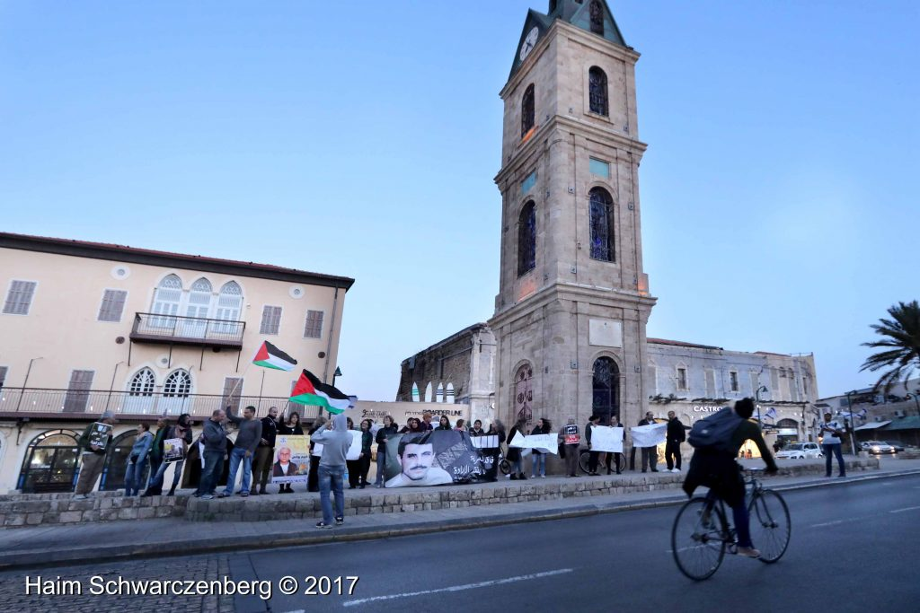 Jaffa stands in solidarity with Palestinian political prisoners | FW7A3085