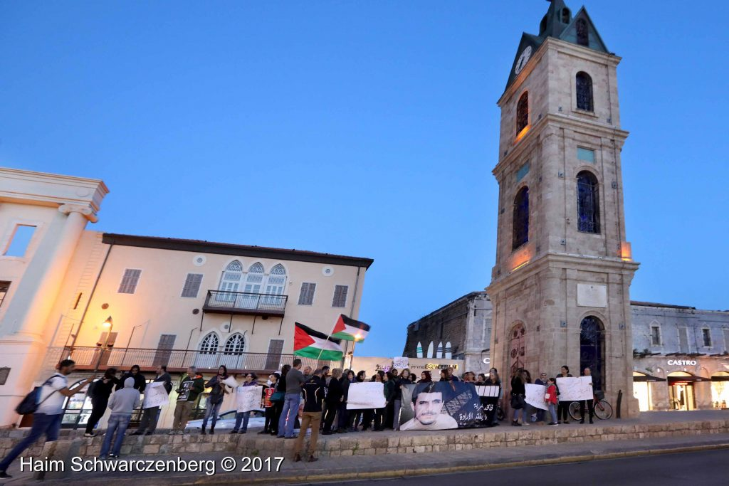 Jaffa stands in solidarity with Palestinian political prisoners | FW7A3139