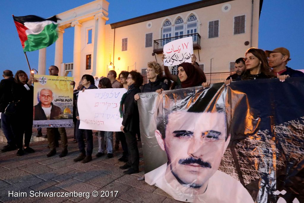 Jaffa stands in solidarity with Palestinian political prisoners | FW7A3227