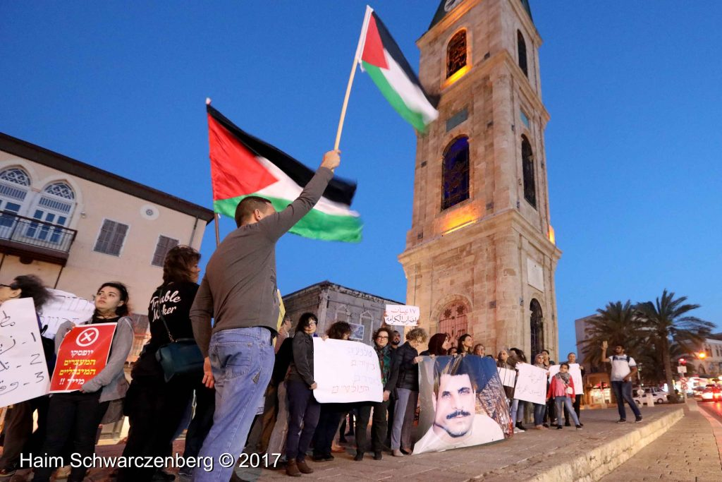 Jaffa stands in solidarity with Palestinian political prisoners | FW7A3242