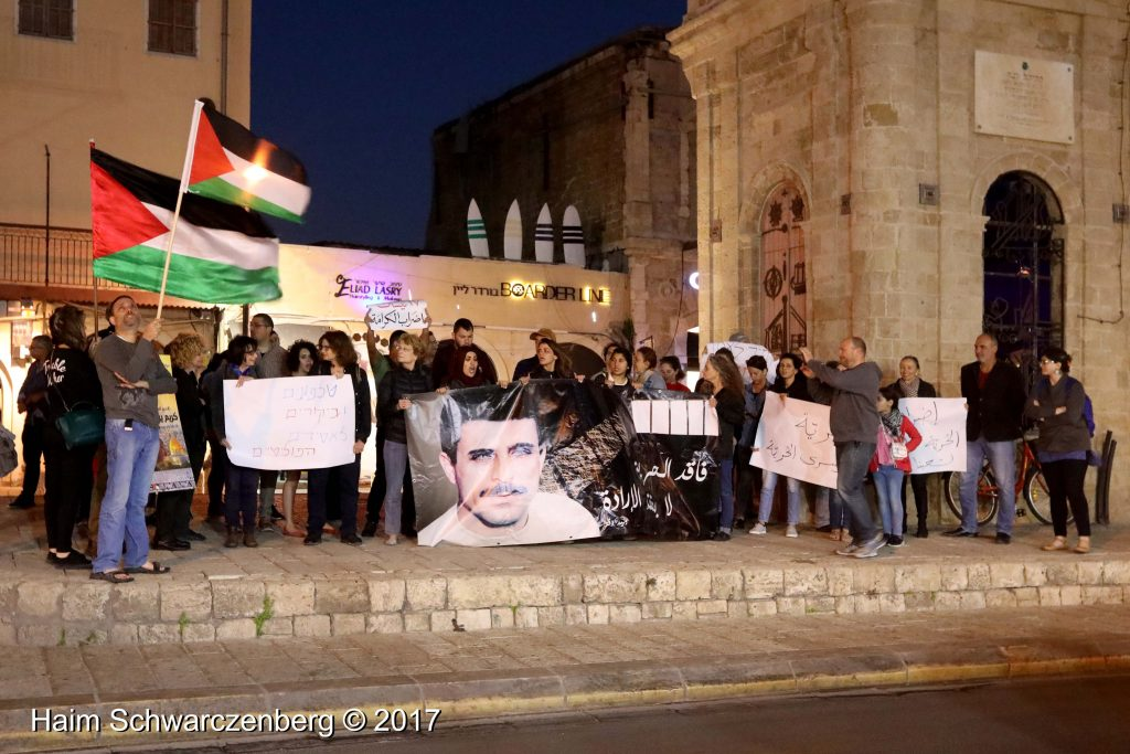 Jaffa stands in solidarity with Palestinian political prisoners | FW7A3309