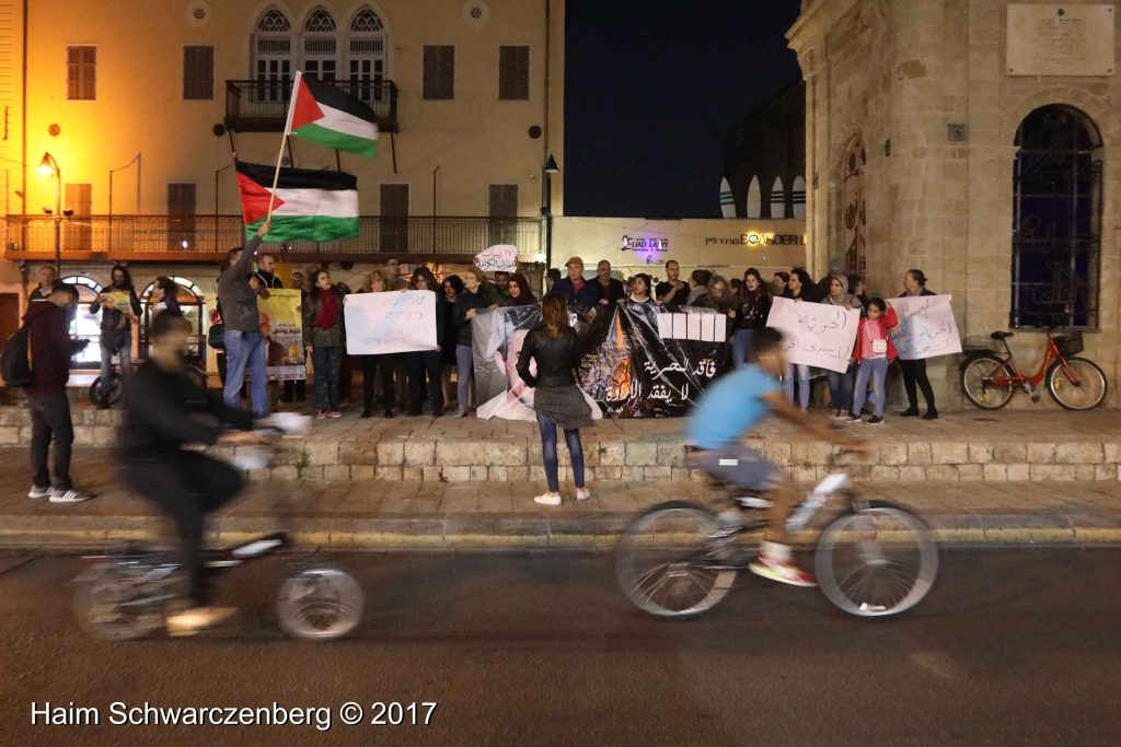 Jaffa stands in solidarity with Palestinian political prisoners | FW7A3338