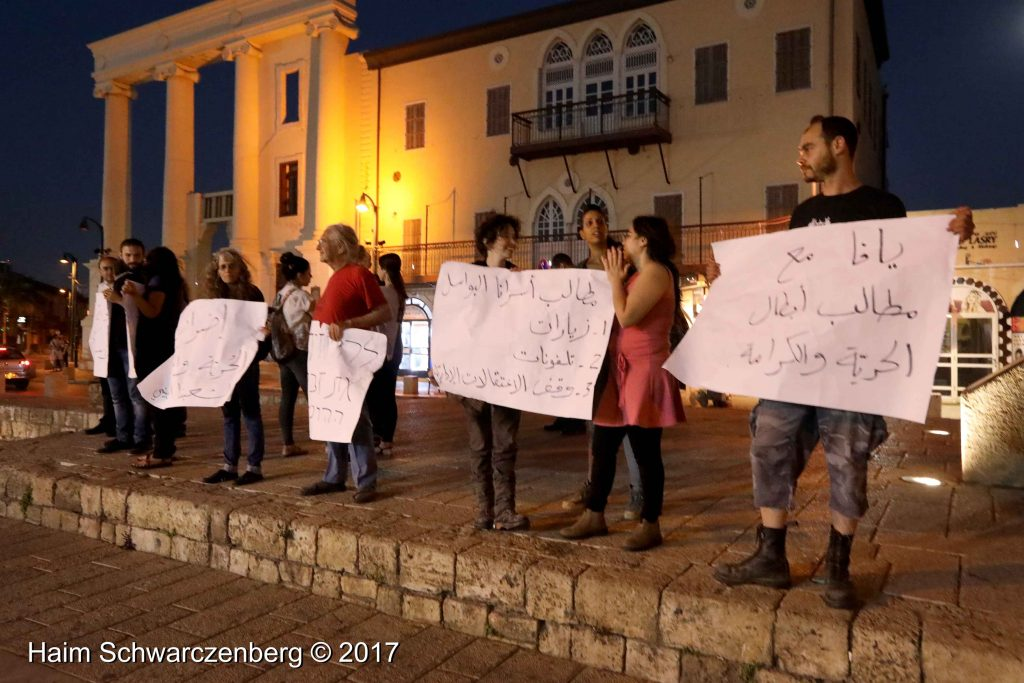 Jaffa stands in solidarity with Palestinian political prisoners | FW7A4734