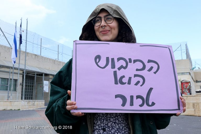 Protest in solidarity with Palestinian political prisoners | FW7A0719