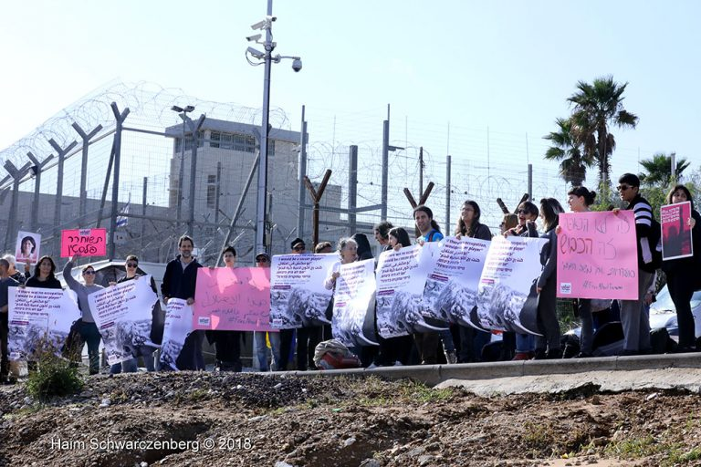 Protest in solidarity with Palestinian political prisoners | FW7A0855