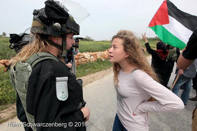 Photo exhibition of Ahed Tamimi in an apartheid detention facility in South Africa | IMG_2646