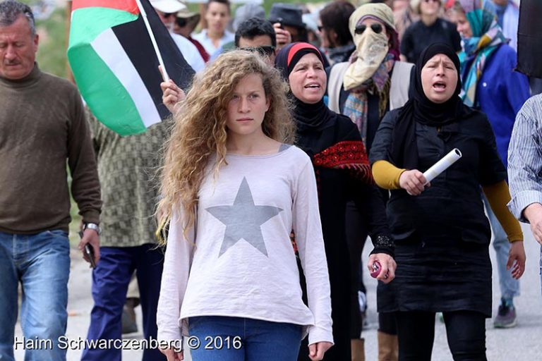 Photo exhibition of Ahed Tamimi in an apartheid detention facility in South Africa | IMG_4178