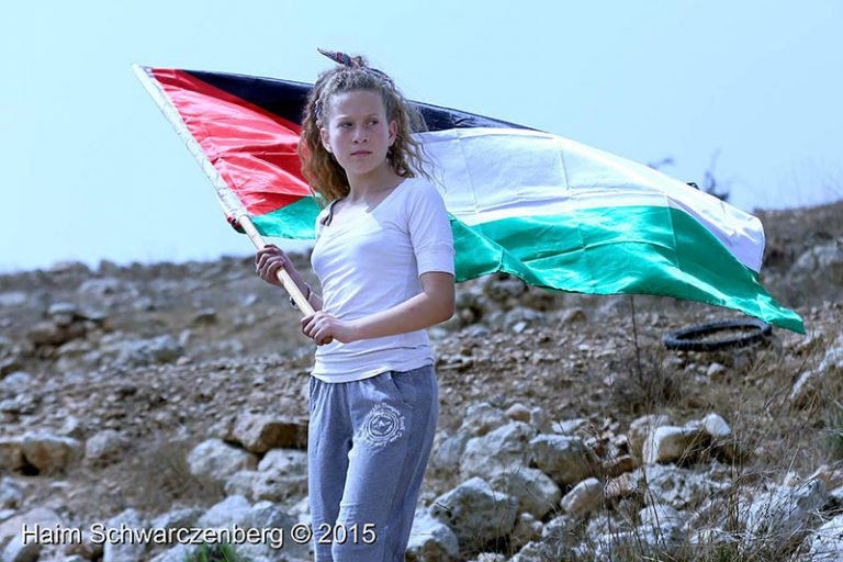Photo exhibition of Ahed Tamimi in an apartheid detention facility in South Africa | IMG_4715