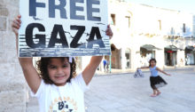 Jaffa in Solidarity with Gaza