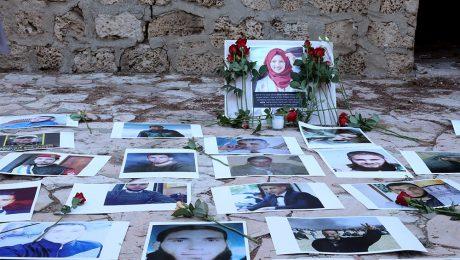 Razan A Najar Memorial Ceremony in her ancestral village Salama 03/07/2018