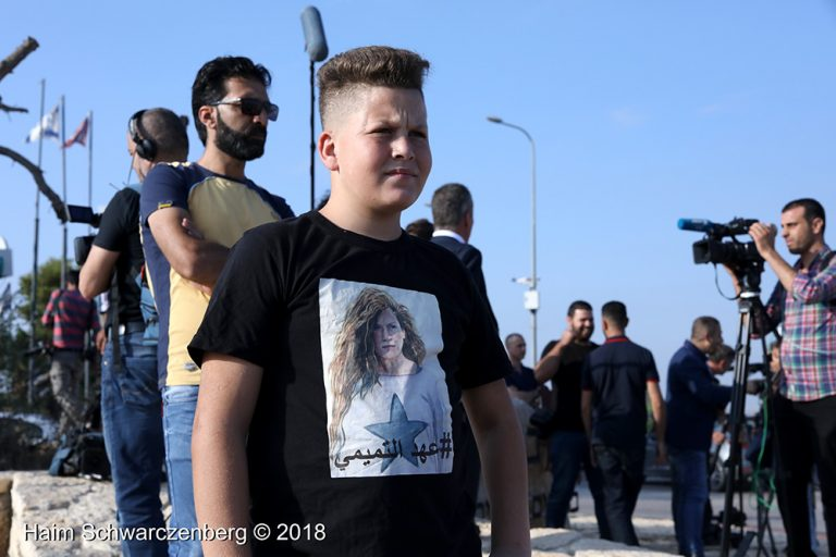 Ahed and Neriman Tamimi released from Israeli prison 29/07/2018 | FW7A6389
