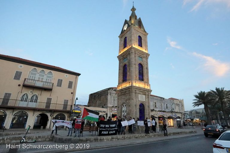 End the bombing of Gaza - Jaffa, 5 May | FW7A9571