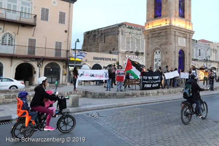 End the bombing of Gaza - Jaffa, 5 May | FW7A9590