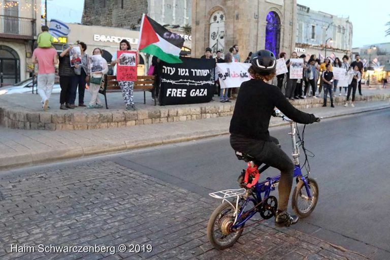 End the bombing of Gaza - Jaffa, 5 May | FW7A9678