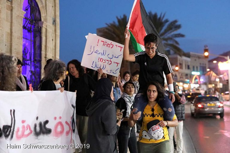 End the bombing of Gaza - Jaffa, 5 May | FW7A9803