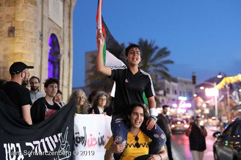 End the bombing of Gaza - Jaffa, 5 May | FW7A9811