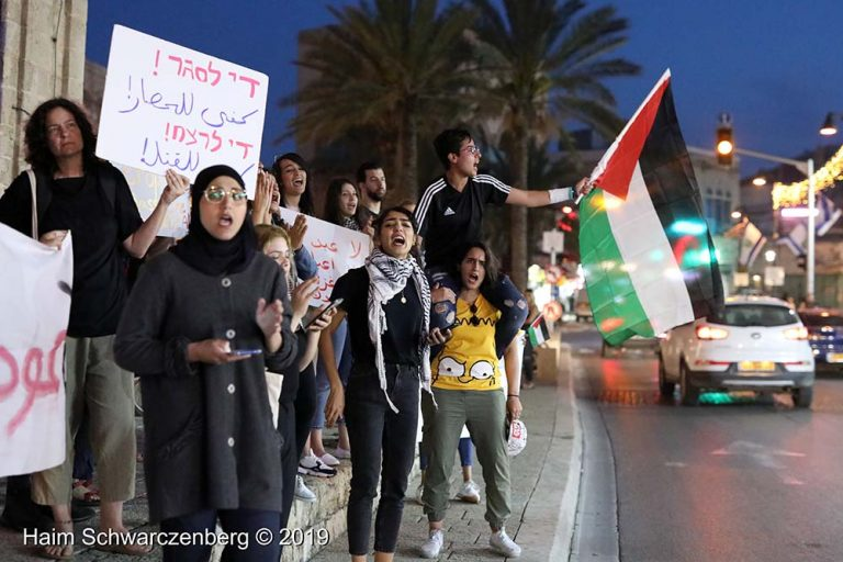 End the bombing of Gaza - Jaffa, 5 May | FW7A9853