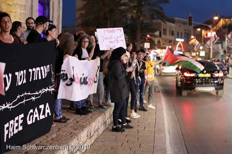 End the bombing of Gaza - Jaffa, 5 May | FW7A9879