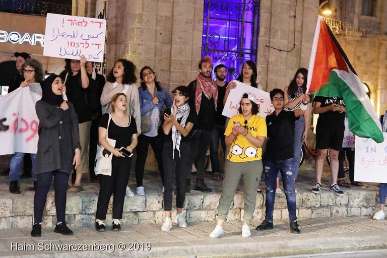 End the bombing of Gaza - Jaffa, 5 May | FW7A9930